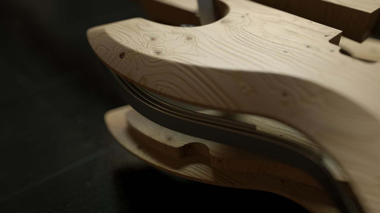Swood Guitar Crowdfunding Video