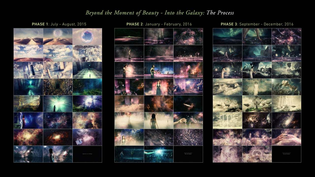 Behind the Scenes: Beyond the Moment of Beauty - Into the Galaxy