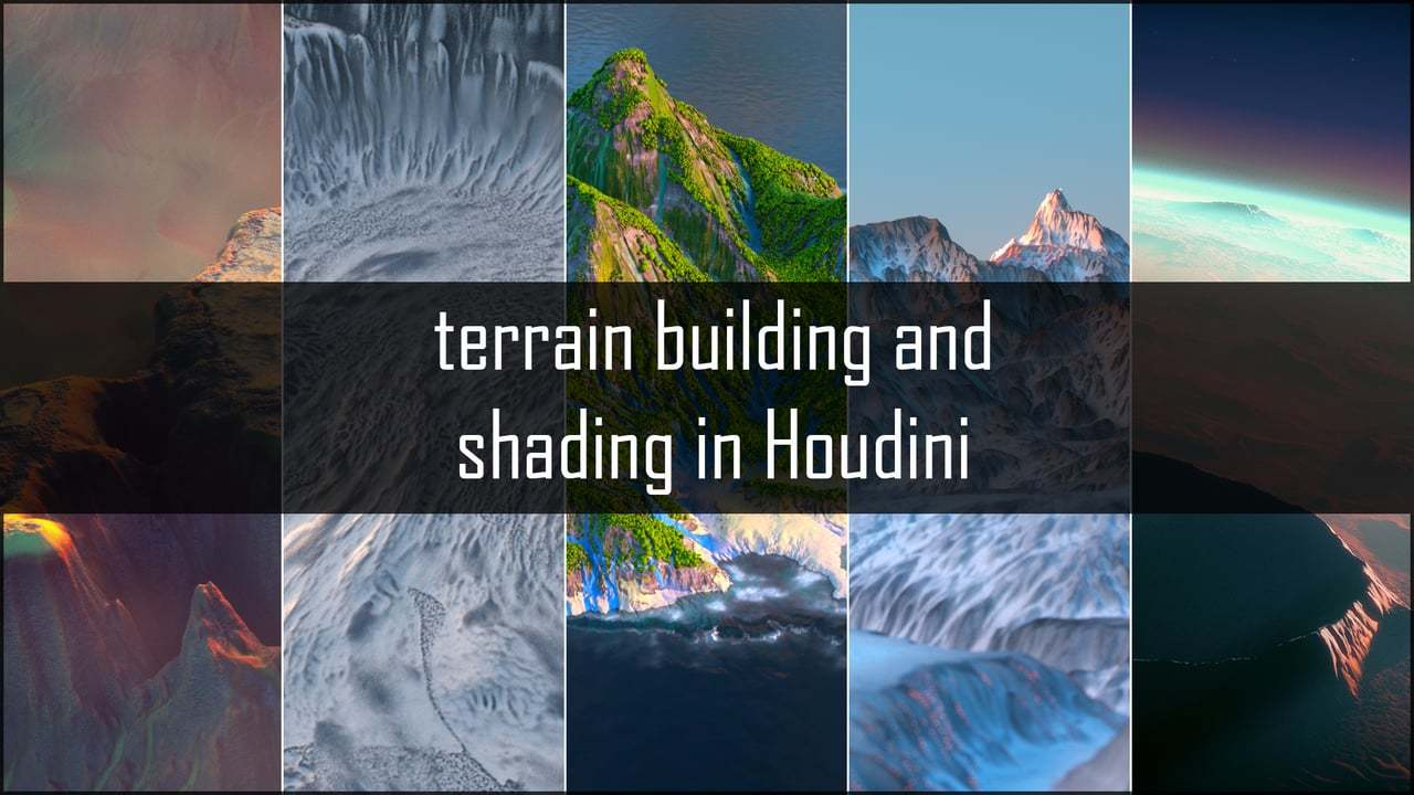 Terrain Building in Houdini - trailer