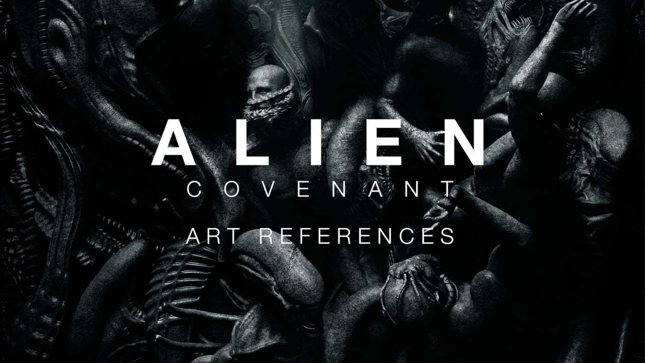 Alien: Covenant - Art References