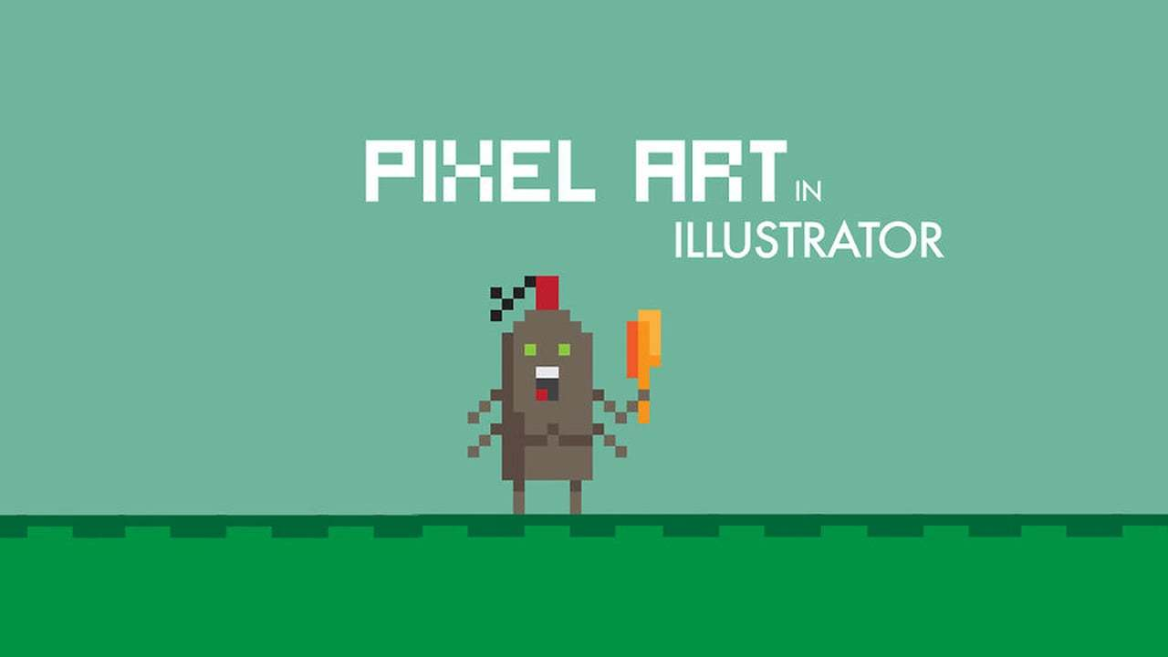 Creating Pixel Art in Illustrator