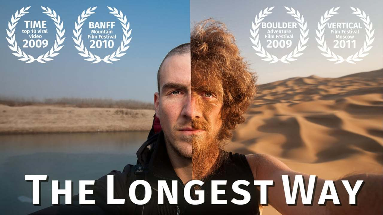 The Longest Way 1.0 - walk through China and grow a beard! - TIMELAPSE