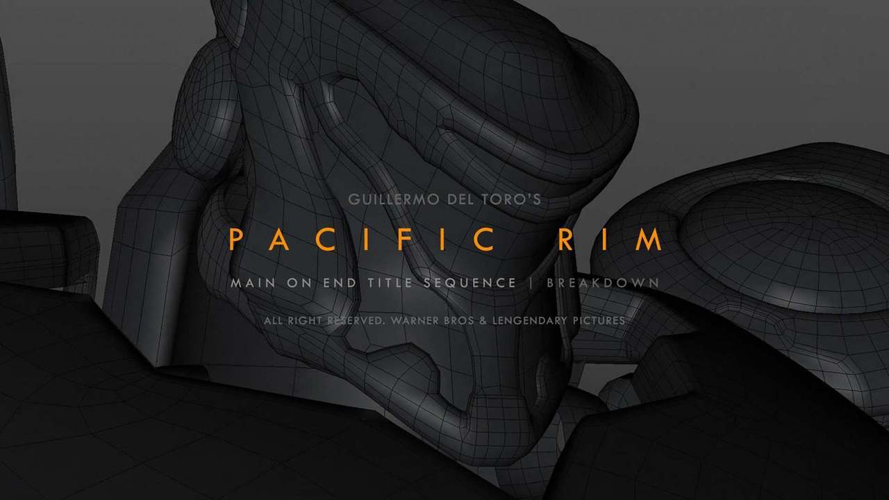 Pacific Rim: End Title Sequence - Breakdown