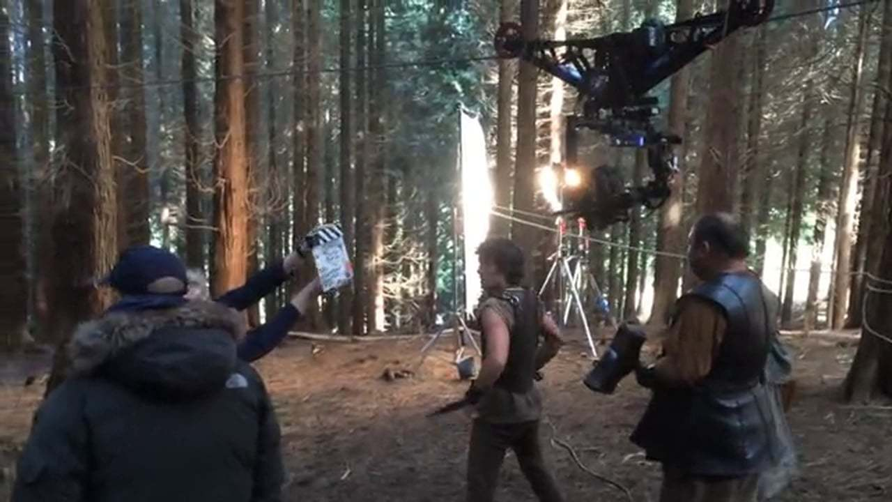 FlyLine cable cam trolley and Gremsy gimbal on Atlantis: First forest shoot