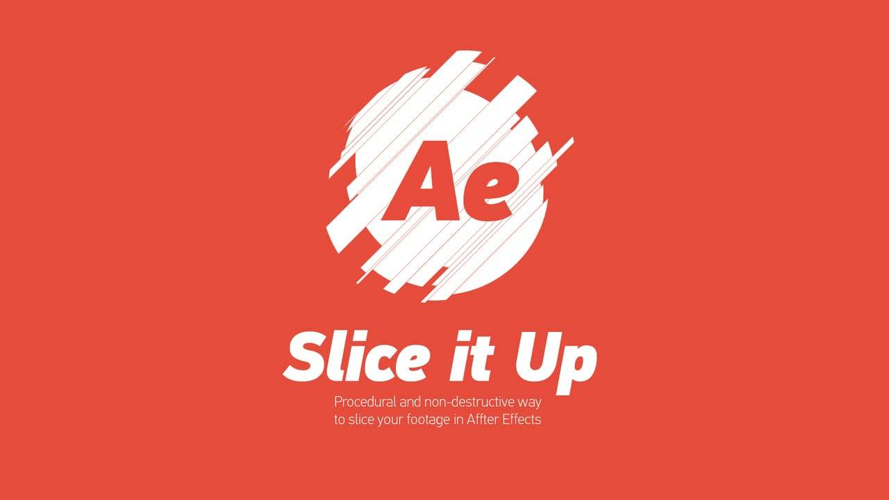 Slice it Up - After Effects Script - Tutorial