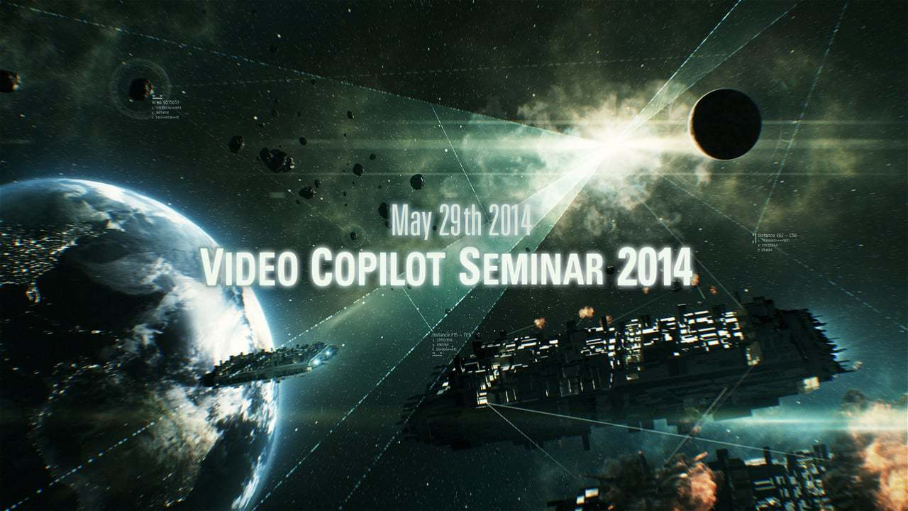 Flashback Japan x Video Copilot present【Video Copilot Seminar 2014】